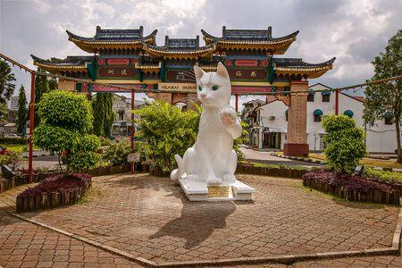 Kuching the cat city, Sarawak, Malaysia. Stock Photo