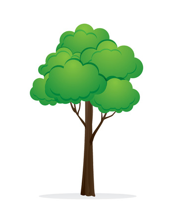 tree vector illustration.