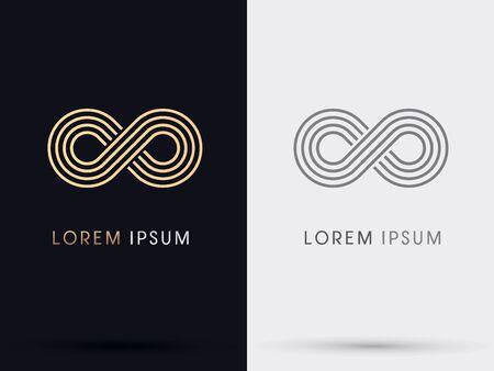infinito simbolo: Infinity Limitless vettore icona