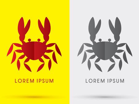 crabby: Crab icon graphic symbol Vector.
