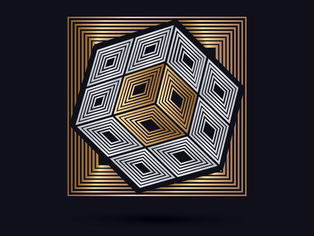 cube box: Cube Box graphic vector . Illustration