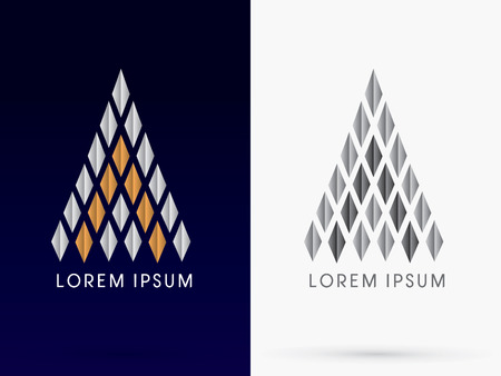 hotels: Luxury Abstract Building Architecture logo symbol icon graphic vector.