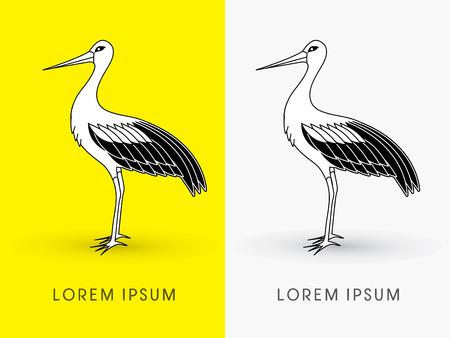 cigogne: Permanent Stork