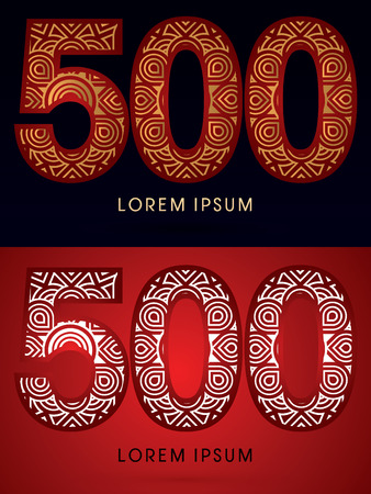 venation: 500 ,Abstract, font, concept filigree, floral, graphic, vector. Illustration