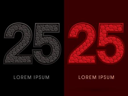 rojo oscuro: 25, Resumen de la fuente, del texto, tipograf�a, patr�n caliente y oscuro, rojo y negro, el concepto de lujo, gr�fico de vector.