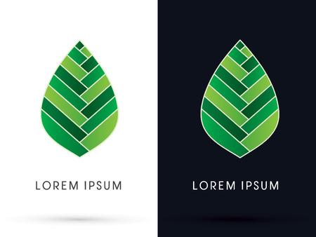 abstract leaf: Luxury Leaf, lotus shape, graphic, vector. Illustration