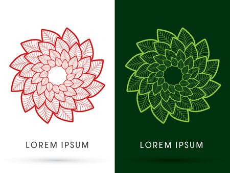 spinning windmill: Luxury Lotus, designed using gold and silver colors, graphic, vector.