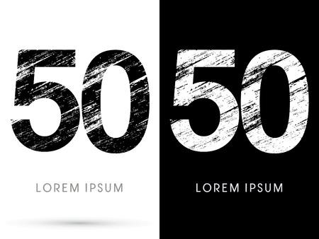 destroy: 50 ,Font grunge destroy graphic