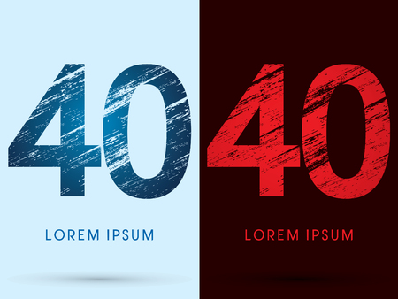 fire font: 40, Font Cool and Hot, Ice and Fire, grunge destroy Illustration