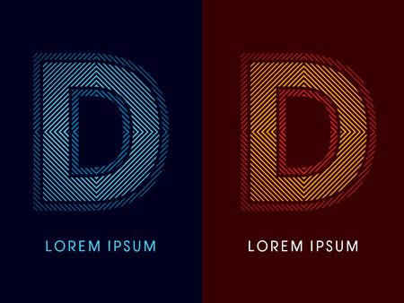 irradiate: D, fuente de lujo abstracto, Dise�ado utilizando colores fr�os y calientes, plaza de l�nea, forma geom�trica, vector gr�fico. Vectores