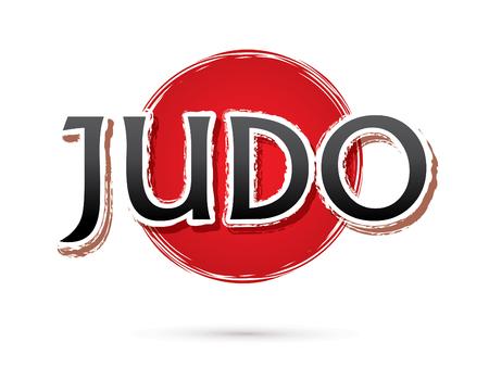 judo: Judo, fuente, texto de gráficos vectoriales
