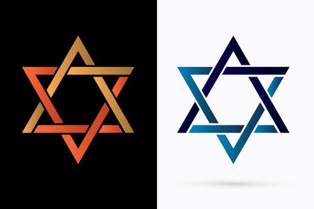 Israel Star graphic vector Vector Illustration