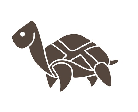 Turtle cartoon graphic vector
