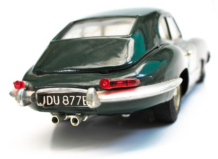 Classic car model for hobby can run by  pushing. photo