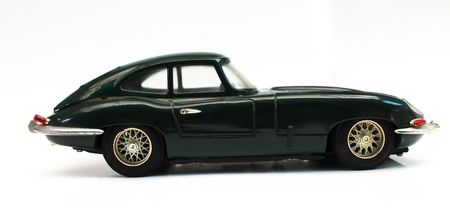 toy cars: Classic car model for hobby can run by  pushing.