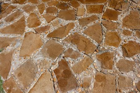 Stone floor mix sand and siemens texture photo