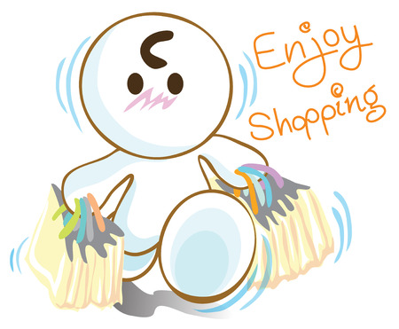 plaza: Enjoy shopping in plaza mall buy too much have many paper bags