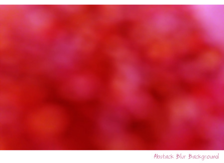 technique: Abstract Blur Background photography technique red and pink color