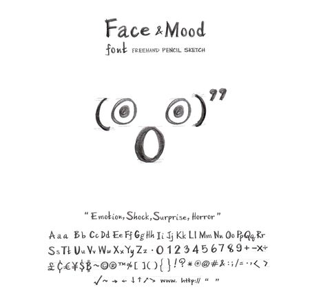 decimal: Face mood symbol angry cartoon creation idea from font freehand pencil sketch and you can use the icon in your business or sign card you  can do many thing
