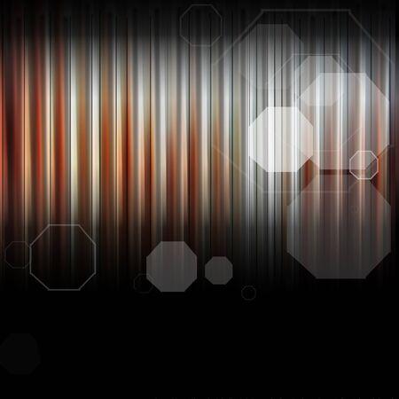 octogonal: Fondo de hoja de zinc oxidado fotografía y diseño gráfico octogonal Foto de archivo