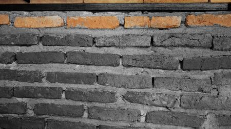 intensity: Brick background graphic design gray scale intensity and color only some brick so different photography