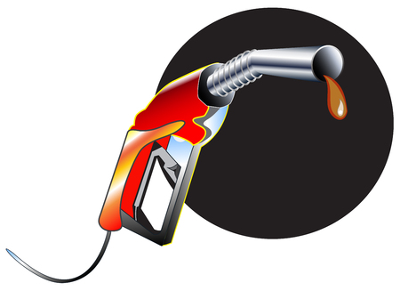 industriousness: Fuel Nozzle object symbol and graphic design isolated for your business