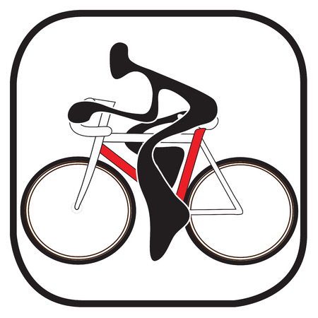 playmate: Shadow man riding bicycle cartoon design sport and symbol graphic design