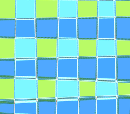 bedspread: Pattern Square blue and green computer graphic design for copy double to print the product Textile, fabric, wrapping paper, pencils, Curtains, sheets, bedspread, shirt or background