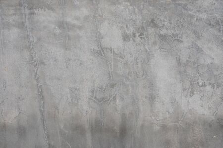 Background cement texture cracks gray color tone full frame. Banco de Imagens