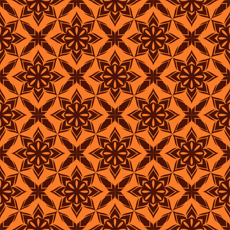 reiteration: Dark patterned background.Present two colors. Illustration