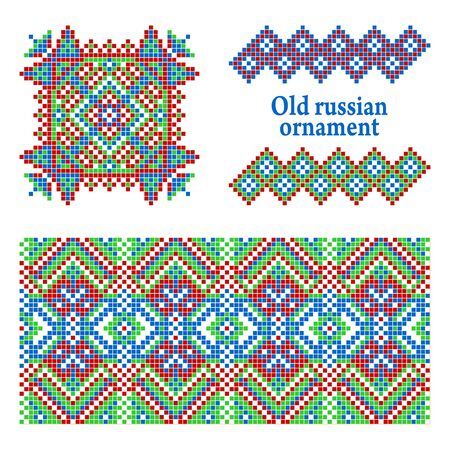 weaving: Some ancient Russian patterns.