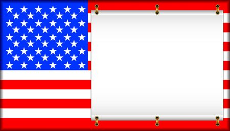united states flag: Flag of the United States of America. On a flag the banner is located.