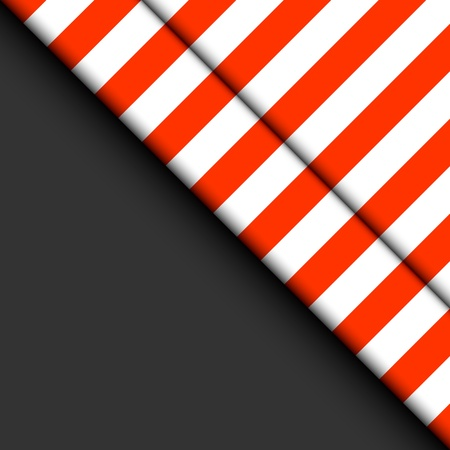 white matter: Abstract striped background. Red and white strips on a black background.