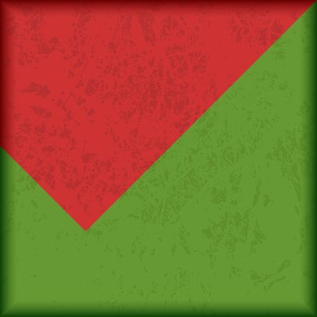 green grunge background: The red and green grunge background.