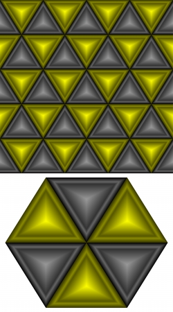 angle bar: Black and yellow triangles form a seamless background.