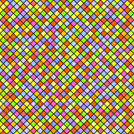 Multicolored tiles form a seamless background  Stock Vector - 22899902