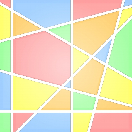 Mosaic abstract background  Stained glass Stock Vector - 22900033