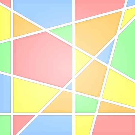 vetrate artistiche: Mosaico sfondo astratto di vetro macchiato