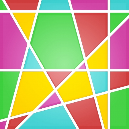 iridescent: Abstract mosaic background  Stained glass  Illustration