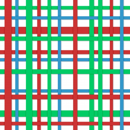 Seamless abstract background  Longitudinal and cross strips of different color Stock Vector - 23283404