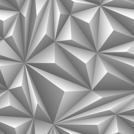 Seamless embossed background of gray color  Vector