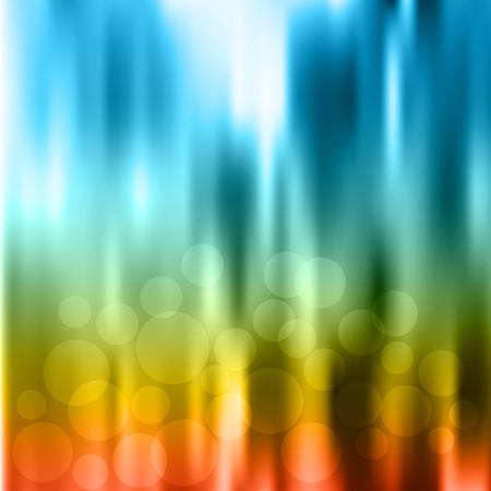 defocus: Background Defocus  Mesh gradient is used  Illustration