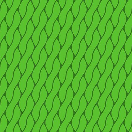 braids: Abstract braids form a seamless green background.