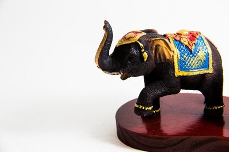 Thai Elephant Farbe schwarz Harz Heimtextilien - Thai Souvenir