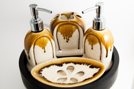 Toiletries luxury product  Stock Photo
