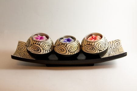 Spa Kerze Aromatherapie Werkzeug handmade - Thai Souvenir