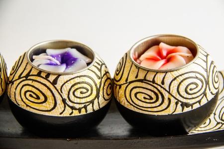Spa candle aroma therapy tool handmade - Thai souvenir