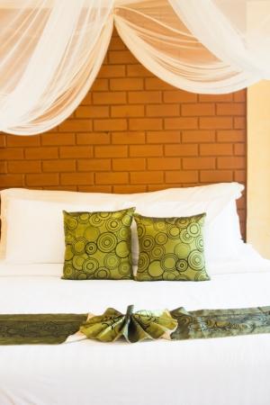 Schlafzimmer f�r travle am Feiertag Stock Foto Lizenzfreie Bilder