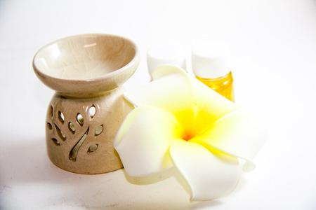flower aroma spa set  Image Stock Photo