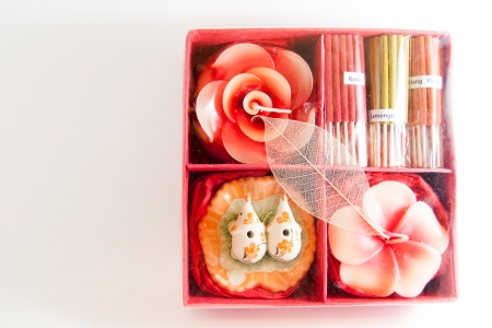 Candle spa aroma therapy tool - Thai gifts  Image